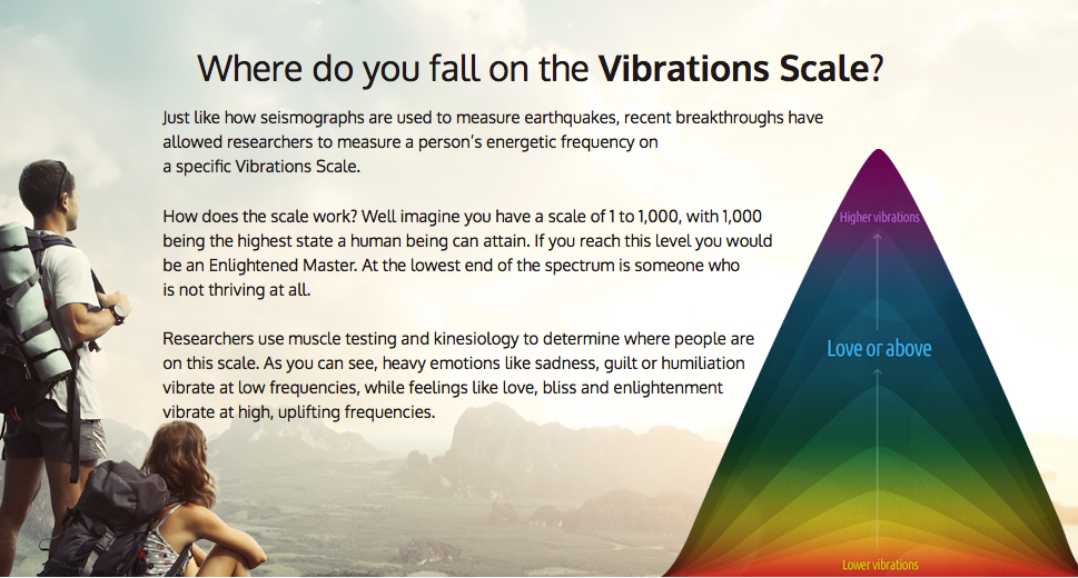 Vibrations Scale
