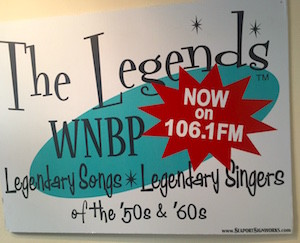 WNBP sign