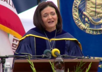 Sheryl Sandberg's Speech at UC Berkeley re: 3 P's of Resilience