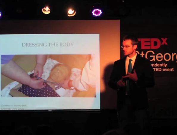 Caleb Wilde's TEDx Talk: Embracing Death