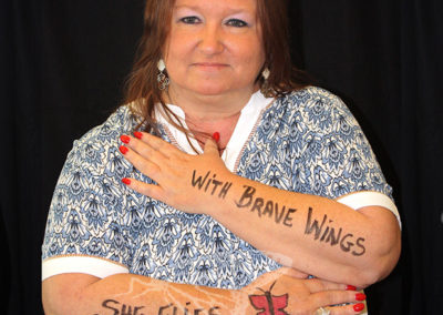"""""""She Flies with Brave Wings"""""""